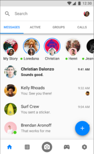 تحميل تطبيق Messenger