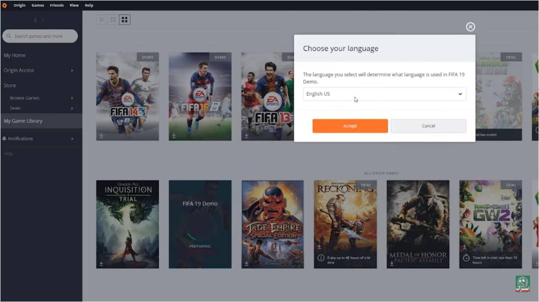 تحميل لعبة فيفا 2019 للكمبيوتر مجانا