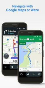 تحميل تطبيق الخرائط اندرويد اوتو Android Auto